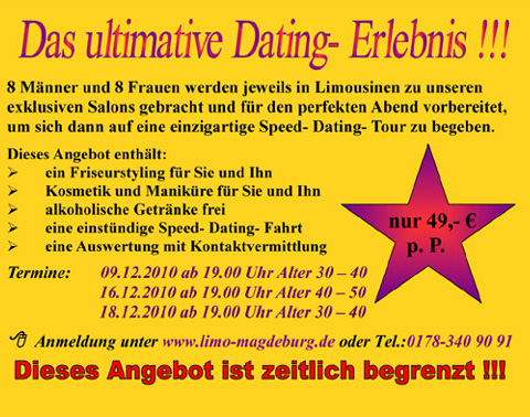 Limo Dates Dezember